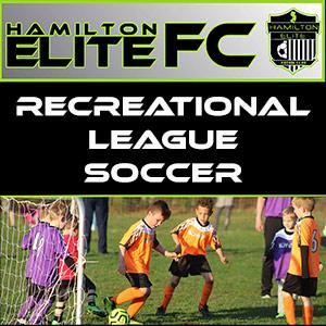 recreational league soccer