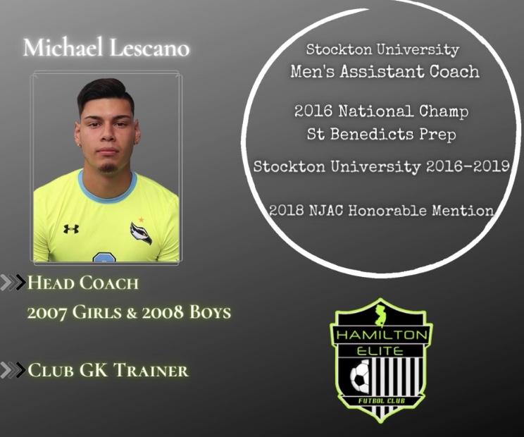 Mike Lescano Soccer Coach